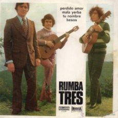 Discos de vinilo: RUMBA TRES EP, PERDIDO AMOR + 3, AÑO 1973. Lote 45137410