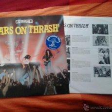 Discos de vinilo: STARS ON THRASH - ROADRUNNER DRI SLAYER ANTRAX. Lote 45139853