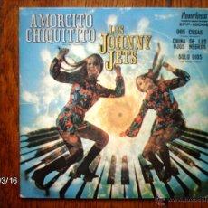 Discos de vinilo: LOS JOHNNY JETS - AMORCITO CHIQUITITO + 3 - EDICIÓN MEXICANA. Lote 45142086