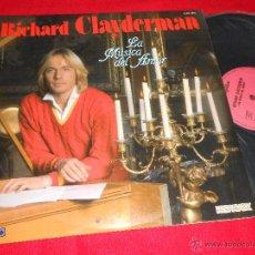 Discos de vinilo: RICHARD CLAYDERMAN LA MUSICA DEL AMOR LP 1981 DELPHINE EDICION ESPAÑOLA SPAIN. Lote 262545295