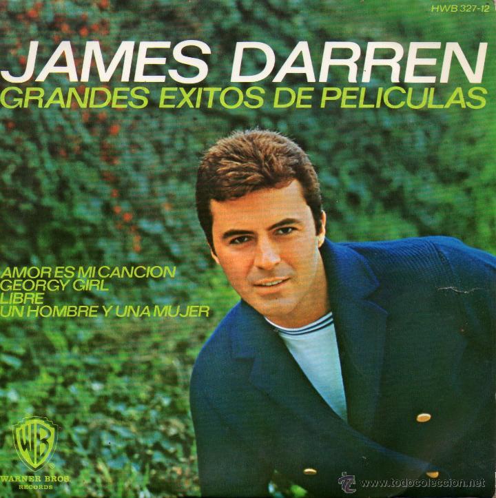 JAMES DARREN - EXITOS DE PELICULAS, EP, GEORGE GIRL + 3, AÑO 1967 (Música - Discos de Vinilo - EPs - Bandas Sonoras y Actores)