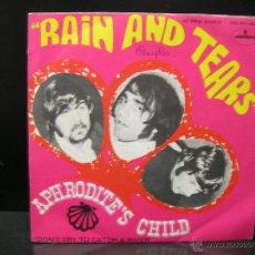 Discos de vinil: APHRODITE'S CHILD - RAIN AND TEARS / DON'T TRY TO CATCH A RIVER - EDICION ESPAÑOLA MERCURY 1968. Lote 45148978