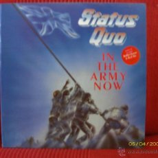 Discos de vinilo: STATUS QUO - IN THE ARMY NOW. Lote 45153603