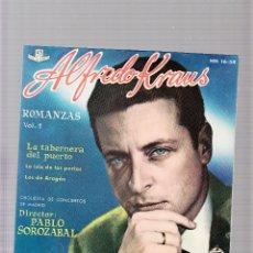Discos de vinilo: ALFREDO KRAUS. Lote 45155462