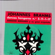 Discos de vinilo: BRAHMS. Lote 45155534