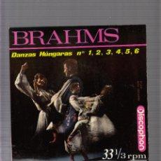 Discos de vinilo: BRAHMS. Lote 45156060