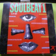 Discos de vinilo: SOULBEAT 1 DOBLE LP WEA VER FOTO ADICIONAL. Lote 45158507