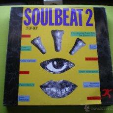 Discos de vinilo: SOULBEAT 2 DOBLE LP WEA VER FOTO ADICIONAL. Lote 45158529