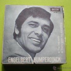 Discos de vinilo: SINGLE ENGELBERT HUMPERDINCK. THE LAST WALTZ-THERE GOES MY EVERYTHING.. Lote 45165561