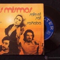 Discos de vinilo: MISMOS, LOS - SALE EL SOL (BELTER 1974) SINGLE - MANOLO DIAZ. Lote 45168750