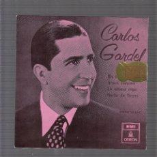 Discos de vinilo: CARLOS GARDEL. Lote 45171582