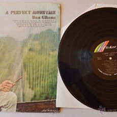 Discos de vinilo: DON GIBSON A PERFECT MOUNTAIN LP HICKORY 1970 USA. Lote 45173287