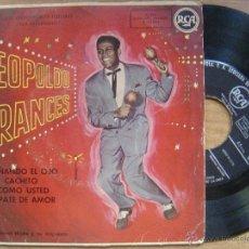 Discos de vinilo: LEOPLODO FRANCES*GUIÑANDO EL OJO + 3*45 EP RCA. Lote 45173297