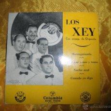 Discos de vinilo: LOS XEY. MERENGUIANDO + 3. EP. COLUMBIA. Lote 45174279