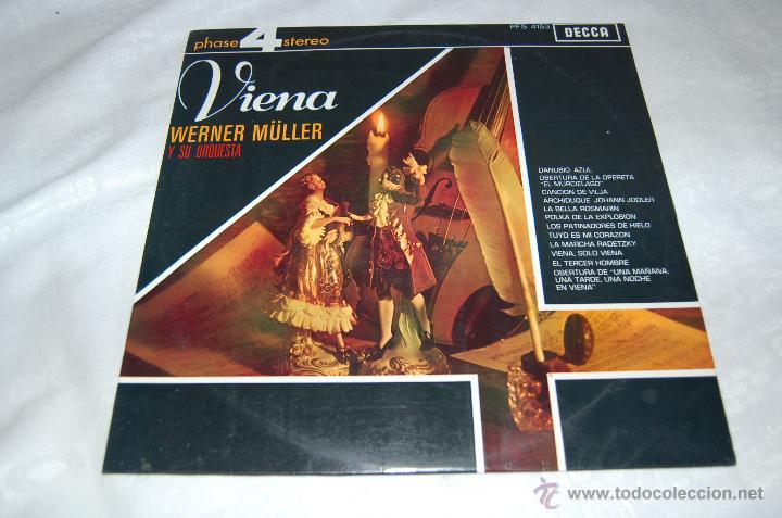 VIENA WERNER MÜLLER Y SU ORQUESTA (Música - Discos - LP Vinilo - Orquestas)