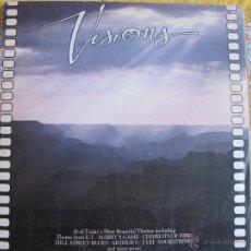 Discos de vinilo: LP - VISIONS - 18 TEMAS DE PELICULAS (SPAIN, DISCOS EDIGSA 1983). Lote 45187532