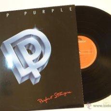 Discos de vinilo: DEEP PURPLE - LP PERFECT STRANGERS - JAPAN ORIGINAL PRESS- EX/ VG. . Lote 45189600