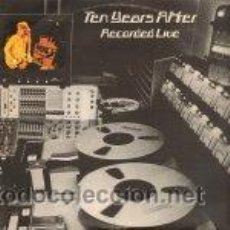 Discos de vinilo: TEN YEARS AFTER - RECORDED LIVE. Lote 45193039