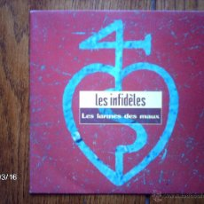 Discos de vinilo: LES INFIDELES - LES LARMES LES MAUX + SABLES MOUVANTS . Lote 45195455