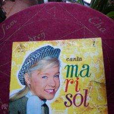 Discos de vinilo: MARISOL. BSO DE LA PELICULA UN RAYO DE LUZ , LP EN VINILO ORIGINAL AÑO 1961 - DISCO MUY ESCASO. Lote 45196349
