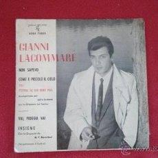 Discos de vinilo: GIANNI LACOMMARE. Lote 45196603