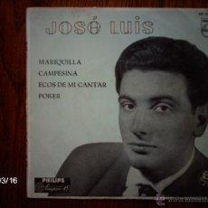 Discos de vinilo: JOSE LUIS - MARIQUILLA + 3. Lote 45200612