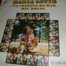Discos de vinilo: MARIA OSTIZ - N'A VEIRIÑA DO MAR / MIL ROSAS - 1970. Lote 45205332