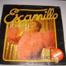Discos de vinilo: LP ESCANILLO UN CABALLERO 1978. Lote 45209284