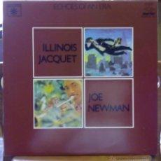 Discos de vinilo: ILLINOIS JACQUET, FLIES AGAIN - JOE NEWMAN, WITH WOODWINDS (MARFER 1981) 2 X LP ESPAÑA. Lote 45213813