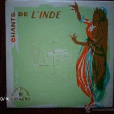 Discos de vinilo: CHANTS DE L´INDIE . Lote 45214722