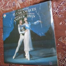 Discos de vinilo: LP DOBLE CLASICO TCHAIKOVSKY-EL CASCANUECES-ORQUESTA SINFONICA DE TORONTO -ANDREW DAVIS-PLASTIFICADO. Lote 45220419