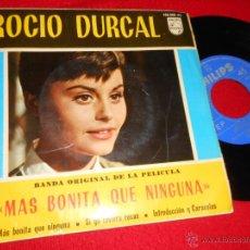 Discos de vinilo: ROCIO DURCAL MAS BONITA QUE NINGUNA BSO/SI YO TUVIERA ROSAS/INTRODUCCION Y CARACOLES EP 1965 PILIPS . Lote 50799671