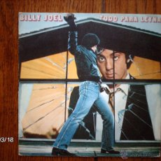 Discos de vinilo: BILLY JOEL - TODO PARA LEYNA ( ALL FOR LEYNA ) + CLOSE TO THE BORDERLINE . Lote 45224920