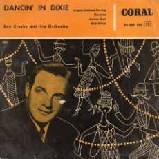 Discos de vinilo: BOB CROSBY AND HIS ORCHESTRA, EP, ORIGINAL DIXIELAND ONE-STEP + 3, AÑO 1958. Lote 45228377
