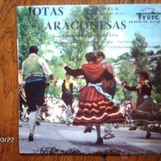 Discos de vinilo: ANGEL GIMENEZ ET MONCAYO - JOTAS ARAGONESAS - FIESTA EN EL PUEBLO + 3 - EDICIÓN FRANCESA . Lote 45233043
