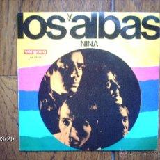 Discos de vinilo: LOS ALBAS - NIÑA + DAMOS UNA FIESTA EN CASA . Lote 45234124