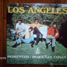 Discos de vinilo: LOS ANGELES - MOMENTOS + PEQUEÑAS COSAS . Lote 45234136