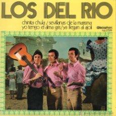 Discos de vinilo: DEL RIO, EP, CHINITA CHULA + 3, AÑO 1971. Lote 45237056