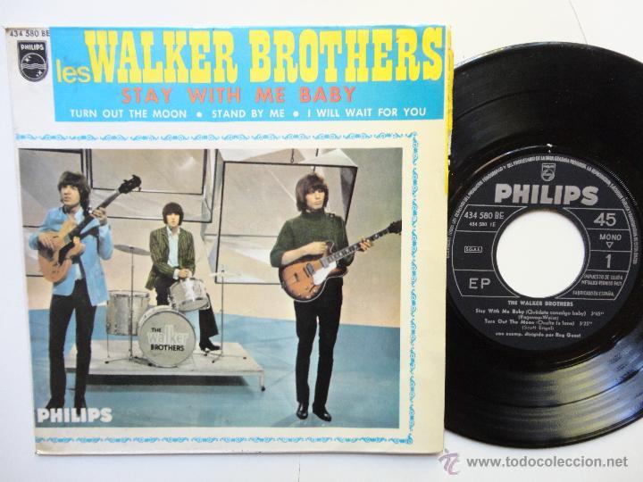 THE WALKER BROTHERS- STAY WITH ME BABY +3- SPANISH EP 1967. (Música - Discos de Vinilo - EPs - Pop - Rock Internacional de los 50 y 60)