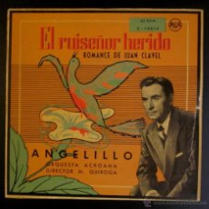 Discos de vinilo: ANGELILLO - EL RUISEÑOR HERIDO. Lote 45243941