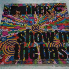 Discos de vinilo: M.C. MIKER G ( SHOW 'M THE BASS 4 VERSIONES ) 1989 - BELGIUM MAXI33 HIGH FASHION MUSIC. Lote 45245569