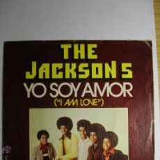 Discos de vinilo: JACKSON 5 I AM LOVE SINGLE VINILO ESPAÑA 1975 MUY BUEN ESTADO. Lote 45249741