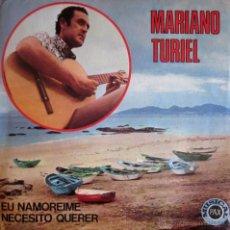 Discos de vinilo: MARIANO TURIEL - EU NAMOREIME - 1971 (EXCELENTE ESTADO). Lote 45250567