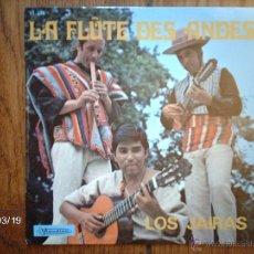 Discos de vinilo: LOS JAIRAS - LA FLUTE DES ANDES - LA PASTORA + 3 - EDICIÓN FRANCESA . Lote 45251225