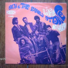 Discos de vinilo: SLY AND THE FAMILY STONE - LIFE + M´ LADY . Lote 45255443