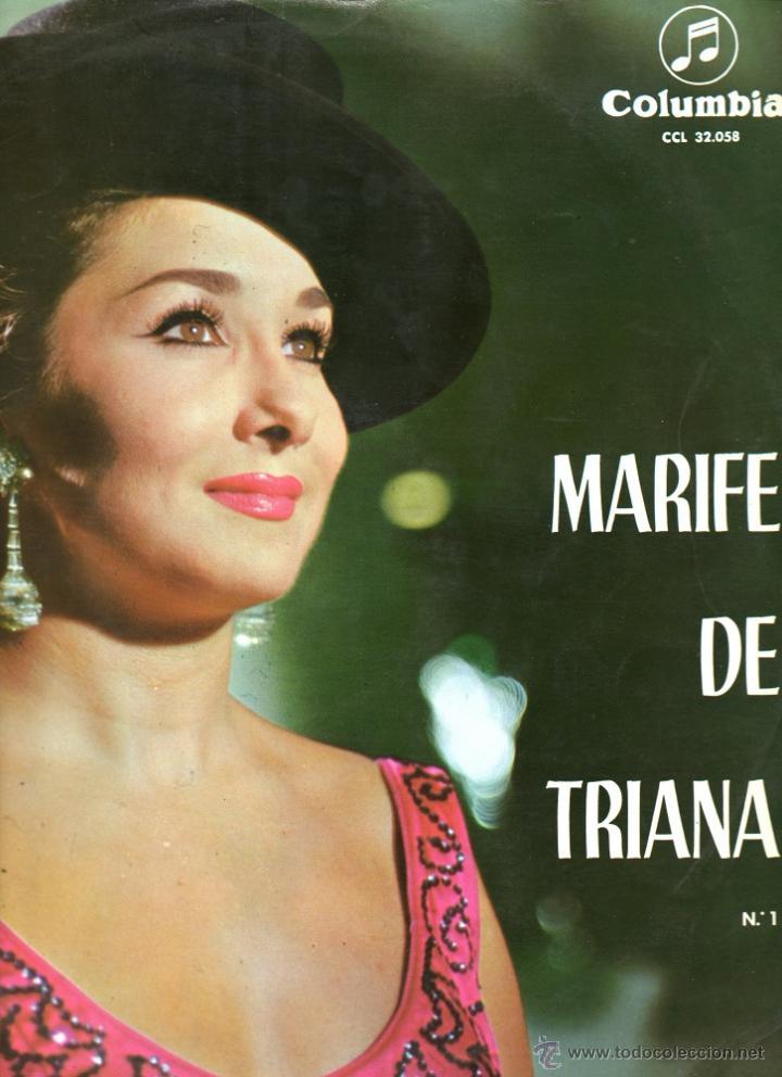 MARIFE DE TRIANA 1964 COLUMBIA CCL 32058 (Música - Discos - LP Vinilo - Flamenco, Canción española y Cuplé)