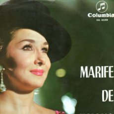 Discos de vinilo: MARIFE DE TRIANA 1964 COLUMBIA CCL 32058. Lote 45257212