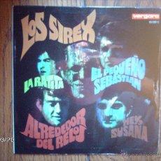 Discos de vinilo: LOS SIREX - LA RATITA + 3. Lote 45258886