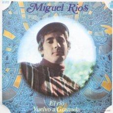 Dischi in vinile: MIGUEL RIOS / EL RIO / VUELVO A GRANADA / SINGLE 1968. Lote 45259404