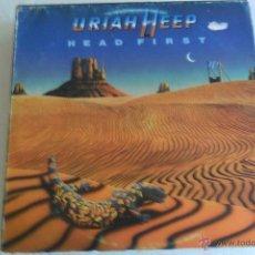 Discos de vinil: URIAH HEEP - HEAD FIRST 1983. Lote 45260474